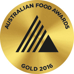 Australian Food Award Gold